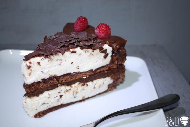 Protein Chocolate Cheesecake (only 90 kcal per piece!)