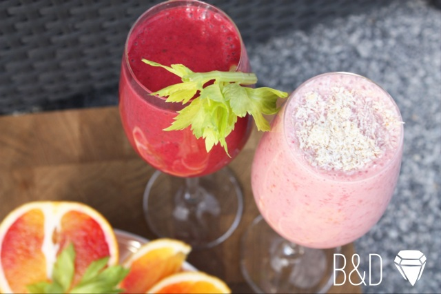 Red Pinkish Smoothies